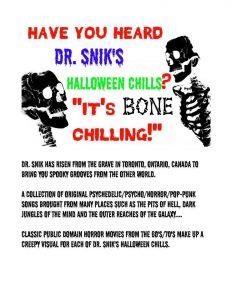 DR. SNIK'S HALLOWEEN CHILLS