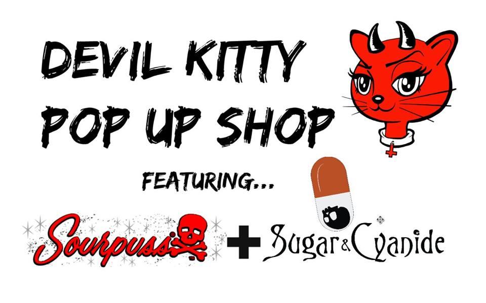 DEVIL KITTY POP UP SHOP